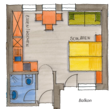 Appartement Nr. 301